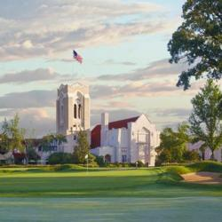Illustration of the Olympia Fields Country Club